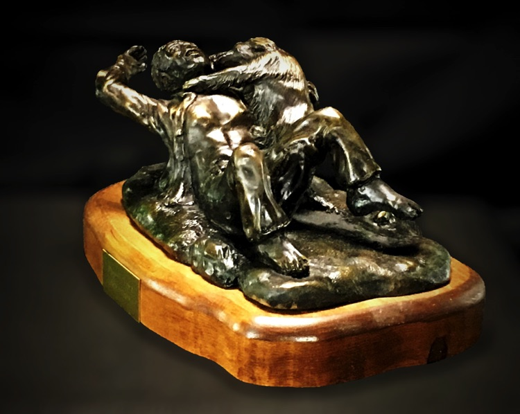 puppy love art bronze sculpture river horse art gallery